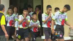 Recovered Thai Boys 'Wild Boars' Talk About Cave Rescue For First Time [Video]