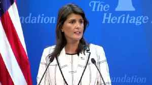 Nikki Haley: 'The Human Rights Council Is The United Nations' Greatest Failure' [Video]