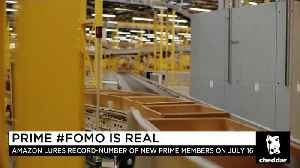 Amazon Prime #FOMO Is Real [Video]