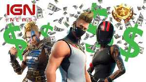 Fortnite Has Reportedly Made over $1 Billion [Video]