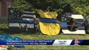Fundraising effort to pay off mortgage of fallen Weymouth police officer [Video]