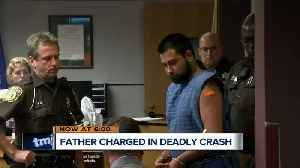 Pewaukee father charged with homicide in crash that killed 3-year-old son [Video]