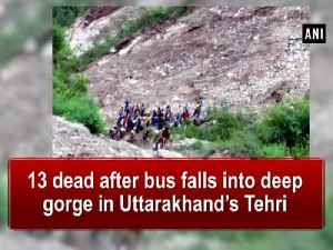 13 dead after bus falls into deep gorge in Uttarakhand's Tehri [Video]