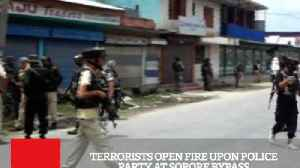 Terrorists Open Fire Upon Police Party At Sopore Bypass [Video]