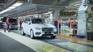 Volvo shifts production to avoid tariffs, chases record sales [Video]