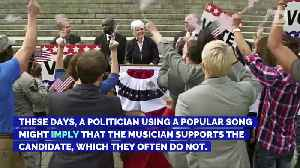 Musicians Who Told Politicians to Stop Using Their Songs [Video]
