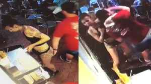 21-Year-Old Georgia Waitress Takes Down Customer Who Groped Her [Video]