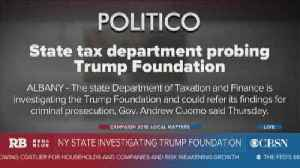 New York state investigating the Trump Foundation [Video]