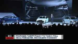 Trade War Worry: How President Trump's proposed auto import tariffs will impact Michigan [Video]