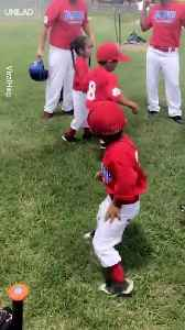 The Swag Performance - Kids Baseball Pre-Game Warm-Up [Video]