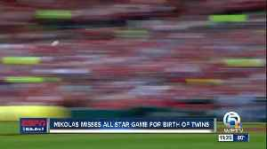 Miles Mikolas reflects on birth of twins [Video]