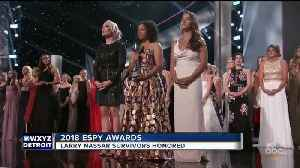 The survivors of the Larry Nassar sex abuse scandal honored at the ESPY Awards [Video]
