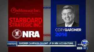 Gardner campaign named in federal complaint alleging NRA violated federal election laws [Video]