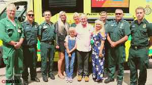 999 call of the moment daughter was talked through saving her dads life [Video]