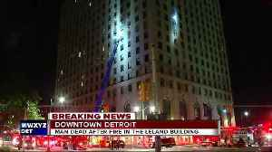 One dead in downtown Detroit apartment fire [Video]
