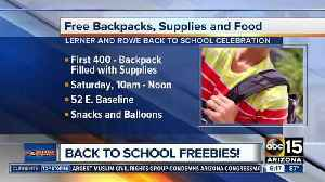 Where to get free backpacks, school supplies in the Valley [Video]