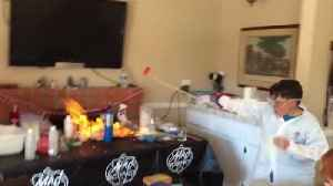 Science Experiment Gone Wrong [Video]