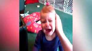 Woman Kisses Her Baby And She Cries Hysterically [Video]