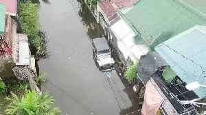 Drone footage reveals the Philippines city submerged by Typhoon Henry [Video]
