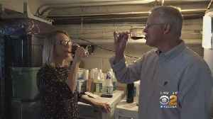 Brentwood Couple Making Wine In Their Garage [Video]