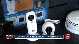 Police: Man Spied On Co-Worker With Baby Monitor [Video]