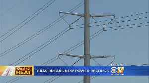 Extreme Heat Leads To Record Breaking Electricity Use [Video]
