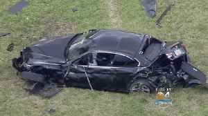 Police Chase Leads To Nasty Wreck, Killing One Of Two People Inside Stolen Car [Video]