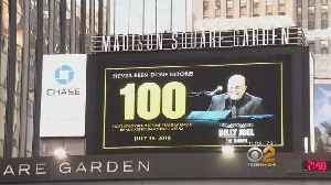 Billy Joel Rings In 100th Show At The Garden [Video]