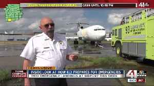 How KCI aircraft rescue, firefighters prepare [Video]