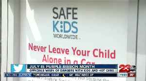 Purple Ribbon Month [Video]