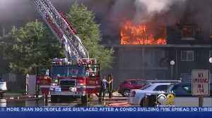 Prospect Heights Fire Displaces Residents [Video]
