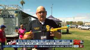 BPD to distribute hundreds of free anti-car theft devices [Video]