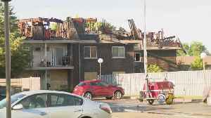Dozens Displaced By Prospect Heights Fire [Video]