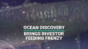 Company's Claim To Have Found Russian Shipwreck Sparks Investor Feeding Frenzy [Video]