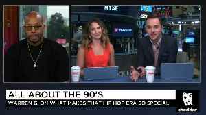 Warren G on 90s Rap: 'We Talked About More Social Issues' [Video]