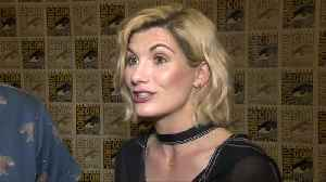 First female 'Doctor Who' appears at Comic-Con [Video]