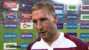 Tomkins takes positives from defeat [Video]