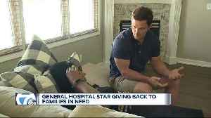 Soap Opera star and Michigan resident brings awareness to pediatric cancer [Video]