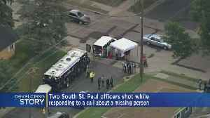 2 Police Officers Recovering After Shooting In South St. Paul [Video]