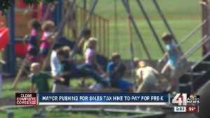 KCMO mayor pushing for sales tax hike to pay for pre-K [Video]