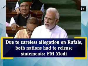 Due to careless allegation on Rafale, both nations had to release statements: PM Modi [Video]