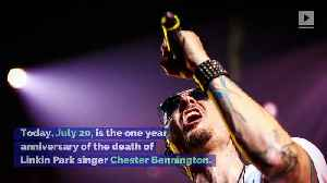Linkin Park Pays Tribute to Chester Bennington One Year After Death [Video]