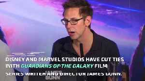 Director James Gunn Fired From 'Guardians of Galaxy Vol. 3' Over Past Tweets [Video]