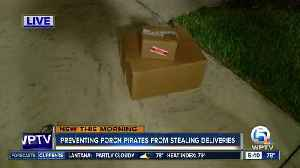 Prevent 'porch pirates' from snatching your Amazon Prime Day delivery [Video]