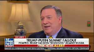 Mike Pompeo Dismisses Absurd Notion That Russia Has Dirt on Trump [Video]