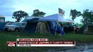 Woman struck by lightning at Country Thunder Music Festival, deputies say [Video]