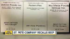 Raw ground beef products sold in Florida recalled due to possible E. Coli contamination [Video]
