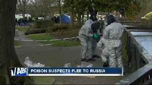 Suspects in woman's poisoning escape to Russia [Video]