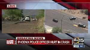 Phoenix police officer in critical condition after crash in north Phoenix [Video]