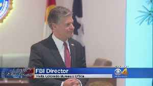 During Colorado Visit, FBI Director Wray Says Russia Continues To Sow Discord In US [Video]